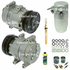 New A/C AC Compressor and Drier Fits: 1997 - 2004 Chevrolet Corvette V8 5.7L OHV