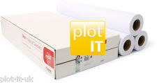 3 rolls Designjet 90 g/m² Plotter Paper 610mm x 50m A1 - 90gsm Canon Branded