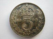 1905 silver Threepence, A UNC.