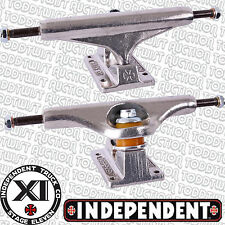 """INDEPENDENT Stage 11 Skateboard Trucks Raw 169's -  9.0"""" Wide Axles - Set of 2"""
