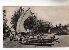 Mount Lavinia Hotel & Katamaran Colombo Postcard c1910
