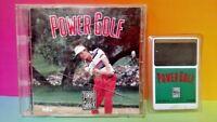 Power Golf  + Manual (TurboGrafx-16, 1991) TG16 Turbo Rare - Tested Turbo Grafx