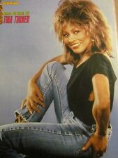 Tina Turner, Full Page Vintage Pinup, Foreign Magazine