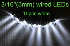12v led Indicator Lights 10pcs white Lamp Pilot Dash Directional Car Truck Boat