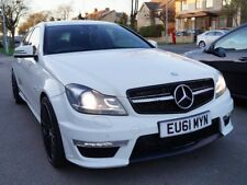 2012 MERCEDES C220 CDI AMG SPORT EDITION 125 WHITE ***FULL C63 REPLICA***