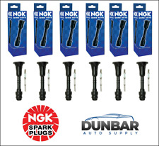 Set Of 6 NGK 58913 Spark Plug Boots (Coil On Plug)
