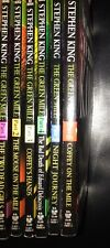 Stephen King The Green Mile (Part 1-6) Complete Paperback Set ~ 1st Printings