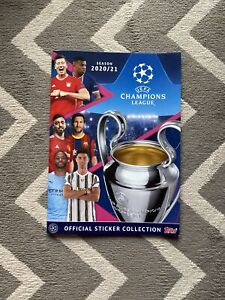 UEFA Champions League official sticker collection album TOPPS 2020/21 Season Wow