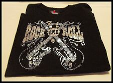 Shirt Mens or womens Rock and Roll Fender T By Davinci Guitars Music Band MedNew