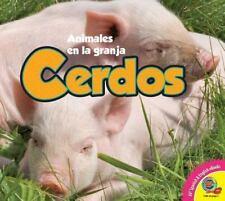 Cerdos / Pigs (Animales En La Granja) (Spanish Edition)-ExLibrary