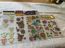 Baby Embellishments - Recollections, Sticko, Stickabilities - 77 Stickers