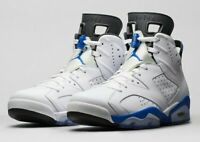 Nike Air Jordan VI 6 Retro Sport Blue (384664-107) Mens 8.5