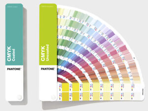 PANTONE CMYK Guide Gloss Coated & Uncoated, over 2800 4 colour process colours.