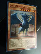 Yugioh Judgment Dragon Ultra Rare DUSA 1st Edition