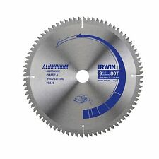Irwin CIRCULAR SAW BLADE 235mm 80T Triple Chip Ground Steel Made USA Brand