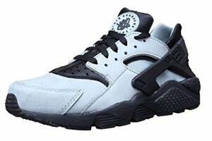 Nike Men's Air Huarache Run Grey/Black Sz 6 704830-301 Running Shoes