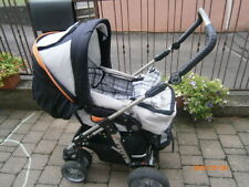 Kinderwagen, Hartan Racer + Winterfußsack schwarz
