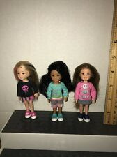 TY LIL ONE KELLY SIZE DOLLs Lot Of 3