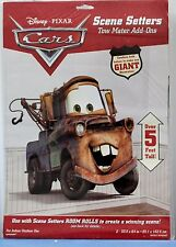 CARS TOW MATER SCENE SETTERS Party Decoration Wall Disney Pixar Boy Birthday NEW