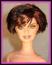 Beautiful nude Martina McBride Barbie smiling sculpt short hair