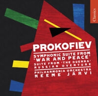 Sergei Prokofiev : War and Peace CD (2009) ***NEW*** FREE Shipping, Save £s