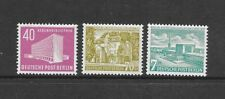 GERMANY Sc 9N108-10 NH ISSUE OF 1954 - BUILDINGS
