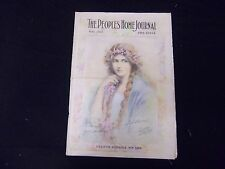 1912 MAY PEOPLE'S HOME JOURNAL MAGAZINE - GREAT ILLUSTRATIONS & ADS - ST 1792