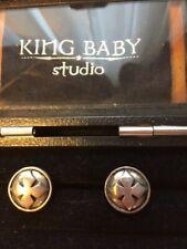 King Baby Iron Cross Cuff Links