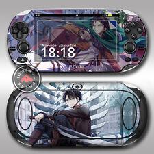 Shingeki no Kyojin Attack on Titan Anime Skin Aufkleber Für Sony PSV PSVITA PSP