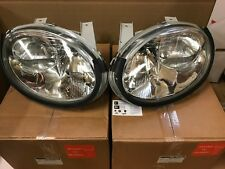 NEW MGF SET OF HEADLIGHTS HEADLAMP PAIR OF FOR CARS HEADLIGHT LEFT HAND DRIVE