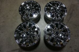 "(4) 18"" 18x8 6x130 +53 Mercedes Sprinter 2500 Giovanna Chrome Wheels Rims"