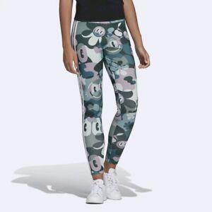 Adidas Originals W Cartoon Camouflage Leggings Size UK 8,10,12,14,16,18 New 814