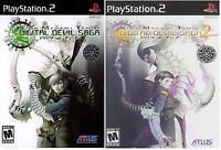 Shin Megami Tensei: Digital Devil Saga 1 & 2 Dual Pack [PlayStation 2 PS2, NTSC]