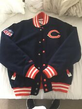 Men's L Throwbacks Mitchell And Ness Philadelphia Varcity Jacket