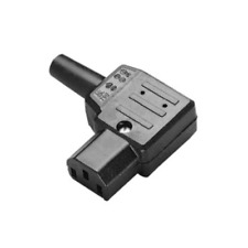 IEC C13 Right Angled Rewireable Connector