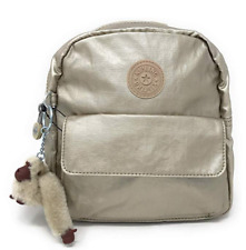"Kipling Rosalind ""GLEAMING GOLD METALLIC"" small backpack, NWT"