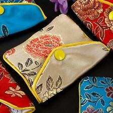 Women's Silk Pouch Purse Gift Wedding Bag Jewellery Bags Chinese FASHION 12x Lot