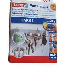 Tesa Powerstrips Large Power Strips groß bis 2 kg NEU 10 Stück 58000