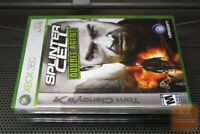 Tom Clancy's Splinter Cell: Double Agent (Xbox 360 2006) FACTORY SEALED! - RARE!