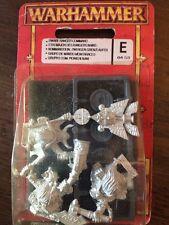 Bugmans Dwarf Ranger Command New Blister Rare Warhammer Dwarves Metal Hq  OOP