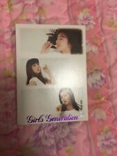 SNSD Group Rare Etched OFFICIAL Starcard  Card Kpop k-pop Girls Generation