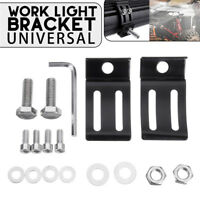 2PCS Aluminum Universal LED Work Light Bar Mounting Bracket For Car Offroad
