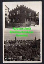119487 AK Rorschach Fotokarte Wohnhaus 1933