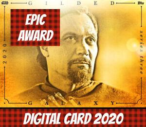 Topps Star Wars Card Trader Bail Organa Gilded Galaxy 2020 Series3 2/12 Award