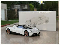 1/18 LCD Pagani Huayra Roadster Supercar Car Diecast Model Car Gifts White/Red
