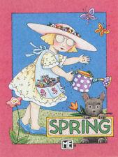 Spring Ann Estelle Henry-Handcrafted Fridge Magnet-W/Mary Engelbreit art