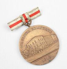 """Medaille """"Per Aspera Ad Astra!"""" Gymnasium Erlangen 1913"""