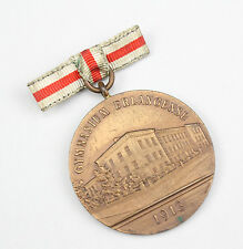 "Medalla ""per aspera ad astra!"" gymnasium Erlangen 1913"