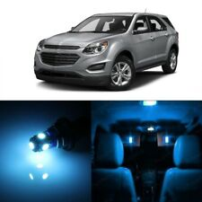 9 x Ice Blue LED Interior Light For 2010 - 2017 Chevy Chevrolet Equinox + TOOL