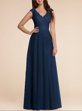 2020 Chiffon Long Lace Formal Ball Gown Party Evening Bridesmaid Prom Dresses+++